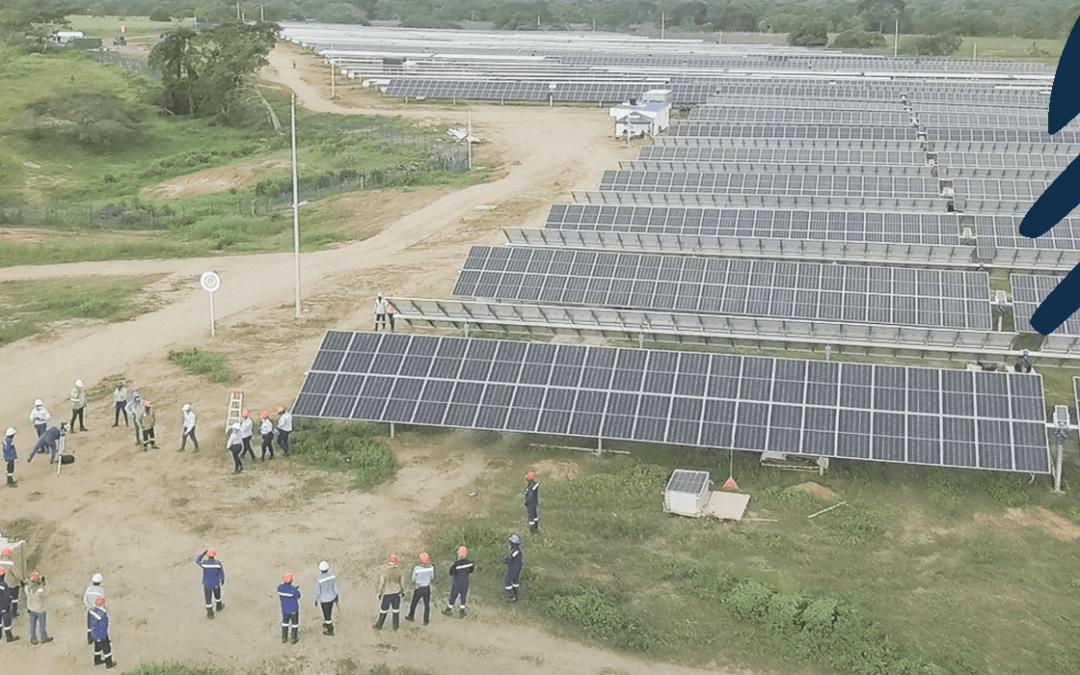 Parque solar en Colombia finalizado